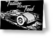 1929 Roadster Design Greeting Card
