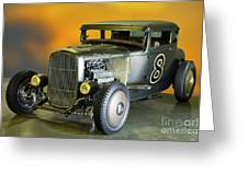 1930-31 Ford 'lakester' Coupe II Greeting Card