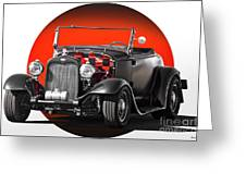 1930 Ford 'red Ball Express' II Greeting Card