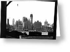 1930 Midtown Manhattan Greeting Card