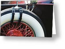 1930 Rolls Royce Greeting Card