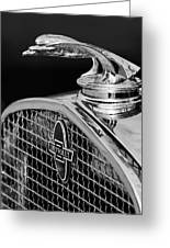 1931 Chevrolet Hood Ornament 4 Greeting Card