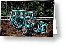 1931 Chevy Hot Rod  Greeting Card
