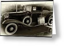 1931 Chrysler  Greeting Card