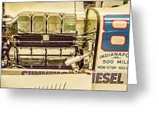 1931 Cummins Diesel Special Greeting Card