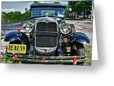 1931 Ford 7374 Greeting Card
