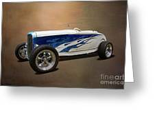 1931 Ford Convertible Hot Rod Greeting Card