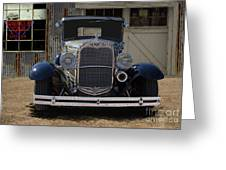 1931 Ford Model A Roadster Greeting Card