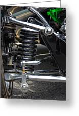 1931 Ford Roadster Suspension Greeting Card