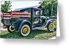 1931 Ford Truck Greeting Card