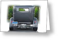 1931 Ford Tudor Sedan 'see Ya' Greeting Card
