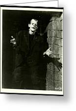 1931 Frankenstein Boris Karloff Greeting Card