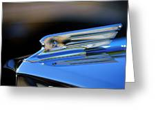 1931 Marmon Sixteen Coupe Hood Ornament 2 Greeting Card