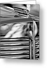 1931 Marmon Sixteen Coupe Hood Ornament 4 Greeting Card