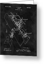 1931 Plane Patent Greeting Card