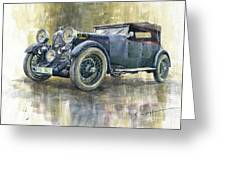 1932 Lagonda Low Chassis 2 Litre Supercharged Front Greeting Card