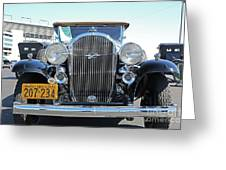 1932 Buick Automobile Greeting Card