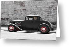 1932 Ford Coupe Greeting Card