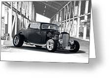 1932 Ford 'deuce' Coupe I Greeting Card