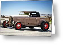 1932 Ford 'original Rod' Roadster Pickup Greeting Card