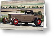 1932 Ford 'rare And Original' Roadster Pickup Greeting Card