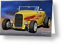1932 Ford Roadster 'hiboy' Greeting Card