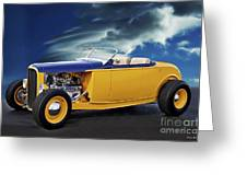 1932 Ford Roadster L Greeting Card