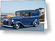 1932 Ford Sedan Delivery II Greeting Card