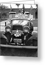 1932 Ford V8 July 4th Parade Tucson Arizona 1986 Greeting Card