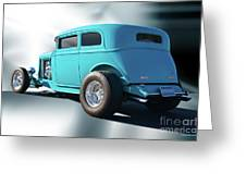 1932 Ford Victoria 3 Greeting Card