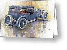 1932 Lagonda Low Chassis 2 Litre Supercharged  Greeting Card