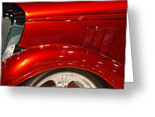 1933 Chevy Custom Roadster Greeting Card