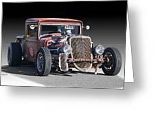 1933 Ford Pu Rat Rod II Greeting Card