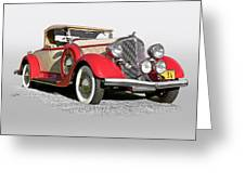 1934 Chrysler Roadster Greeting Card