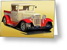 1934 Ford '49'er' Pickup Greeting Card