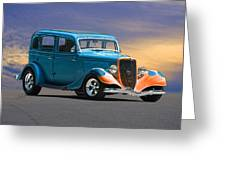 1934 Ford Victoria II Greeting Card