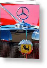 1934 Mercedes Benz 500 K Roadster Greeting Card
