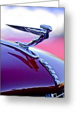 1935 Auburn Hood Ornament 4 Greeting Card