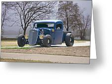 1935 Chevrolet 'hot Rod' Pickup Greeting Card