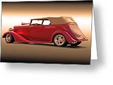 1935 Chevrolet Phaeton II  Greeting Card