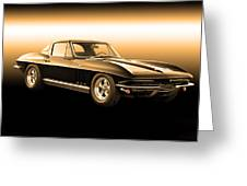 1965 Corvette Stingray Greeting Card