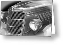 1935 Ford Sedan Grill Greeting Card