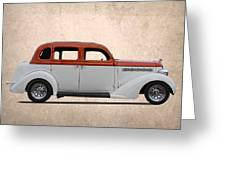 1935 Plymouth Greeting Card
