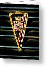 1936 Cadillac Fleetwood Emblem Greeting Card