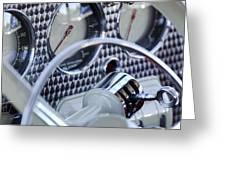 1936 Cord Phaeton Gear Shift Greeting Card