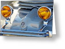 1936 Cord Phaeton Headlights Greeting Card