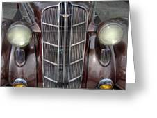 1936 Dodge Grille Greeting Card