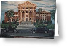 1936 Era Nueces County Courthouse Greeting Card