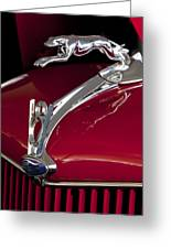 1936 Ford 68 Pickup Hood Ornament Greeting Card