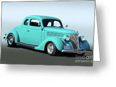1936 Ford Coupe 1 Greeting Card